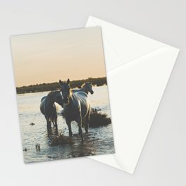 Camargue Horses III ... Stationery Cards