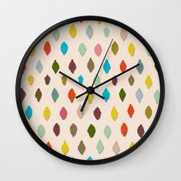 PIPS palest peach Wall Clock