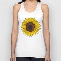 friday Tank Tops featuring Friday by Virginia Skinner