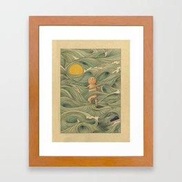 Washed Framed Art Print