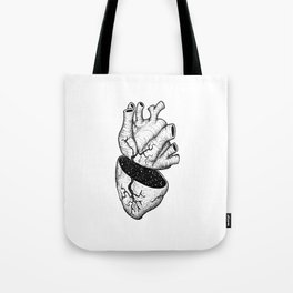 Heart of the Universe Tote Bag