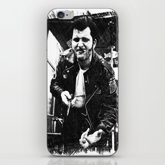 Greaser Johnny iPhone & iPod Skin