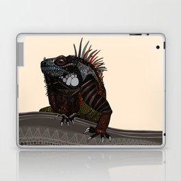 iguana ecru Laptop & iPad Skin