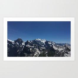 Swiss Mts Art Print
