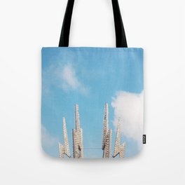 Bolt Out of the Blue Tote Bag