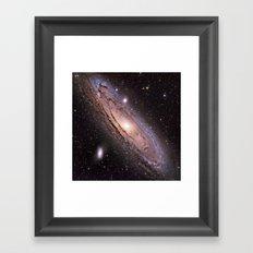 The Andromeda Galaxy Framed Art Print