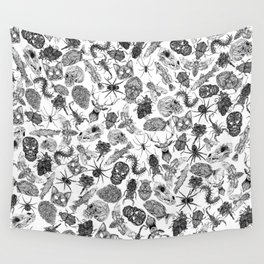 Pattern Black Wall Tapestry