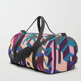 Psychedelic Dissection Duffle Bag
