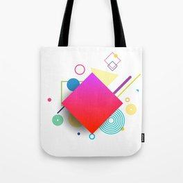 Displaced Geometry Tote Bag