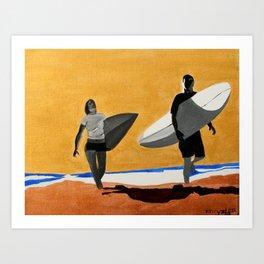 Golden Skies Art Print