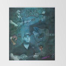 Luke Combs | Luke Combs Art Print Throw Blanket