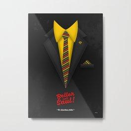 "Better Call Saul - Suit No. #1 - James Morgan ""Jimmy"" McGill's Style. Metal Print"