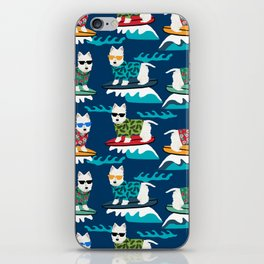 Westie surfing west highland terrier summer fun dog breed iPhone Skin