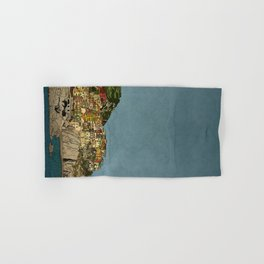 Of Houses and Hills Hand & Bath Towel
