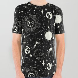 Solar System All Over Graphic Tee