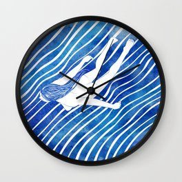 Water Nymph LXIV Wall Clock