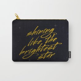 Shining Like The Brightest Star Carry-All Pouch