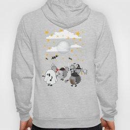 halloween hedgehogs party gang Hoody
