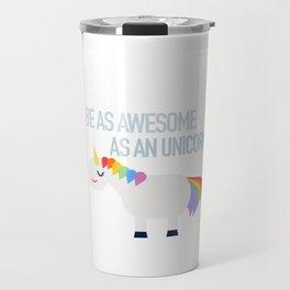 Awesome Unicorn Travel Mug