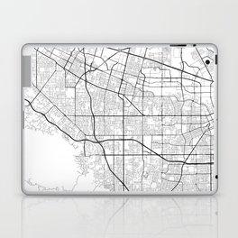 Minimal City Maps - Map Of Sunnyvale, California, United States Laptop & iPad Skin