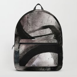 Enso Of Zen No.4M by Kathy Morton Stanion Backpack