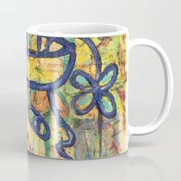 Gert Woman with Vase of Flowers Coffee Mug