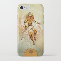 aang iPhone & iPod Cases featuring Air by Madalyn McLeod