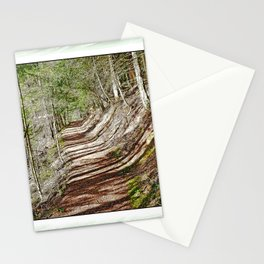 FOREST OF PARALLEL SHADOWS Stationery Cards