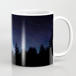 Night Sky Landscape Photography Stars Sky Navy Blue Milky Way Galaxy Coffee Mug
