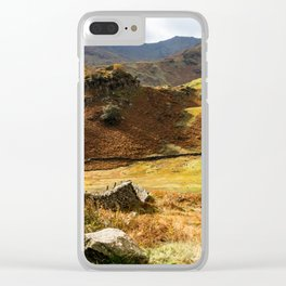 Castle Howe landscape Clear iPhone Case