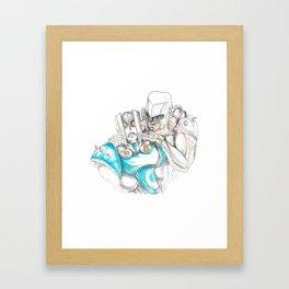 Fix That Frown Framed Art Print