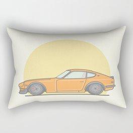 Datsun 240zx vector illustration Rectangular Pillow