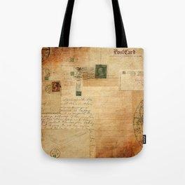 Vintage Collage Tote Bag