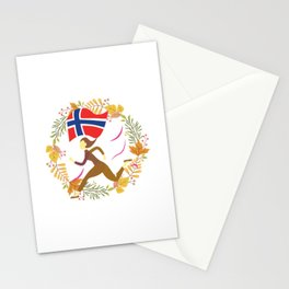 Floral Norway Stationery Cards