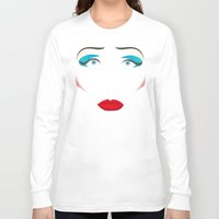 hedwig Long Sleeve T-shirts featuring John Cameron Mitchell as HEDWIG by KnoblArt