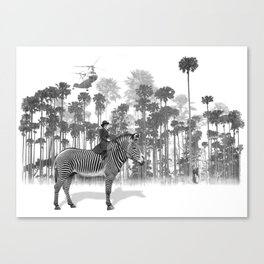 Thrill of the Chase Canvas Print