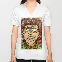 danny ivan V-neck T-shirts featuring Ivan by Patty Hogan