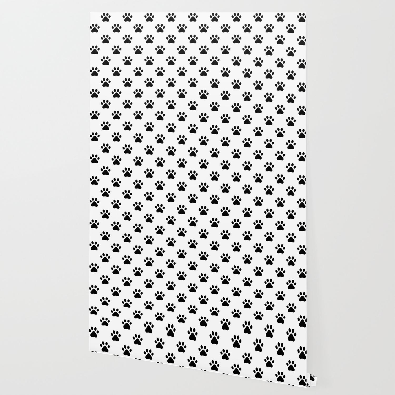 Paw print animal lover pattern