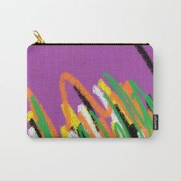 Stripes violet multicolor Carry-All Pouch