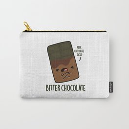 Bitter Chocolate Cute Candy Pun Carry-All Pouch
