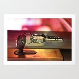 Key. Art Print