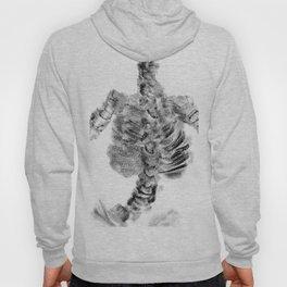 Monoprint Skeleton Hoody