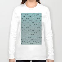 planes Long Sleeve T-shirts featuring Planes by Oscar Lagunah