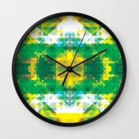 manhattan Wall Clocks featuring Manhattan by Brandon Paul Martinez