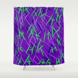 Maniacal Shower Curtain