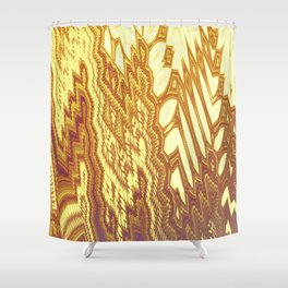 Fractal Abstract 49 Shower Curtain