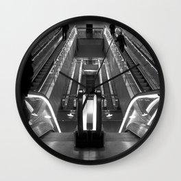 Copenhagen Metro escalators Wall Clock
