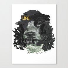 DogHead Canvas Print