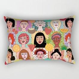 the colors of women Rectangular Pillow