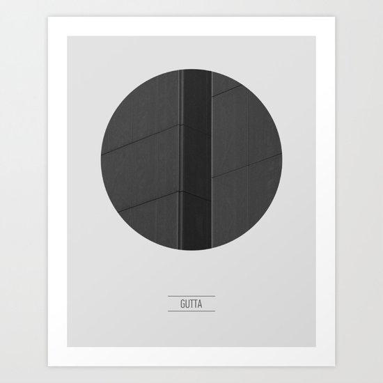 GUTTA Art Print